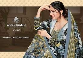 GULAHMED PAKISTANI LAWN DRESSES WHOLESALE