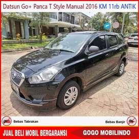 Datsun Go+ Panca T Style Mt 2016 KM 11rb ANTIK Kredit Murah