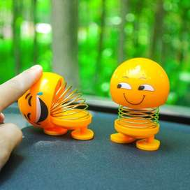 Cute Funny Shaking Head Dolls Spring Bouncing Car Pendant Doll