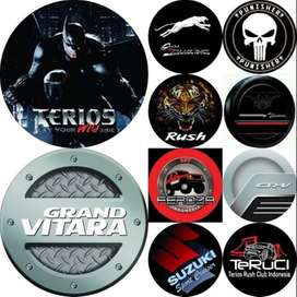 Cover/Sarung Ban Suzuki Vitara/Rush/Terios/Jeep Sendiri BuruanPesan hu