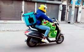 Hiring for delivery boy bike not required