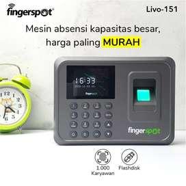 Fingerprint Absensi Sidik Jari TERLARIS Fingerspot Livo 151