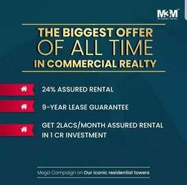 Unbelievable Offer-M3M Gurgaon!! 24% return on investment!!