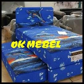 OK MEBEL Bed Sorong 2in1 Ocean Pekanbaru