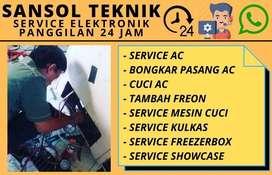 service ac kulkas tidak dingin mesin cuci freezer waru sidoarjo