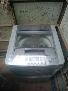 Lg fully automatic 6.5kg   with 6manth full warranty