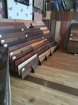 Anti slip rustic wood grain wooden floor tiles