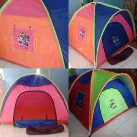 tenda anak karakter bisa cod byr di rumah brbagai ukuran
