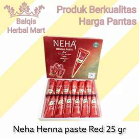 Neha Henna Paste Red 25 gram Pacar Kuku Tangan