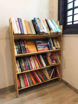Dewey Bookshelf (Pine Finish) from Urban Ladder