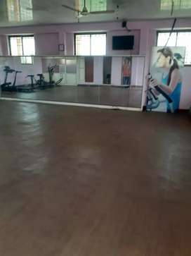Gym area for rent