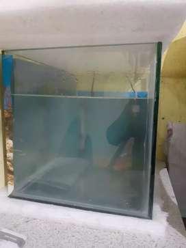 Fish tank in glass