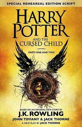 [ALL ACROSS PAKISTAN] Harry Potter and The Cursed Child (Novel) Comple