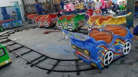 Odong mainan mobil lantai odong full mobil DAP robocar fiber