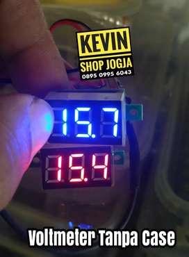 VOLtmeter mini dc  (stok banyak)