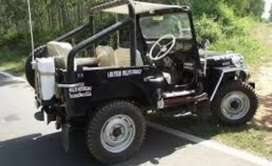 Willy modified classic jeep