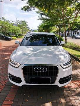 Mobil SUV Audi Q3 1.4 TFSI AT ATPM White on Black Luxury SUV