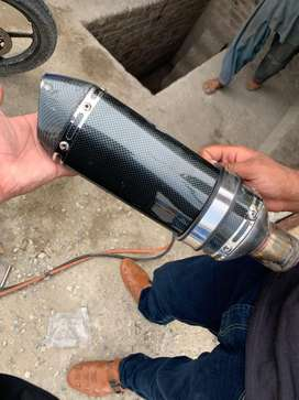 Exhaust for ybr