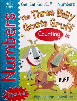 Buku Cerita Anak The Three Billy Goats Gruff Story Book
