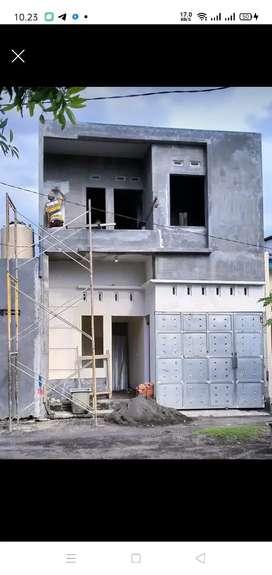 Rumah kampung 2 lantai bringin bendo Taman