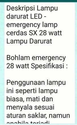 Lamu Emergency lampu emergency