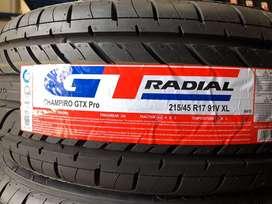 BAN GT RADIAL 215/45 R17 CHAMPIRO GTX PRO