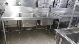 Used/New SS Commercial Sink,racks,tables,counters for sale
