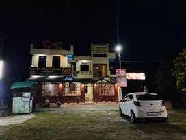 Hotel for sale@ jhajra , near balaji dham(Rooms , Restaurant , lawn )