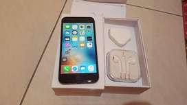 iPhone 6+Plus 16GB  Space Gray 4G LTE Komplit Ex Resmi Singapore Minus