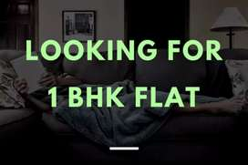 Iam searching for 1bhk