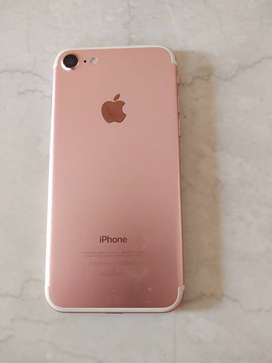 Iphone7 32 GB Rose Gold model for sale