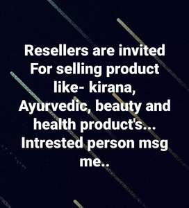 Resellers for selling products