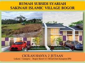 Rumah Tentram Murah Harga Berasa Subsidi Daerah Kampus IPB Bogor