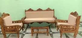 5 sitter Sofa set sagun wood