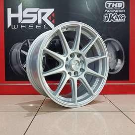 Cicilan velg import SHINJUKU JD7060 HSR R15X7-8 H8X100-114,3 ET35-30