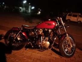 Customised royal enfield for sale