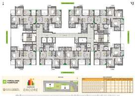 2BHK Luxe Homes at VJ Yashwin Encore, Wakad starting from 64 Lacs*