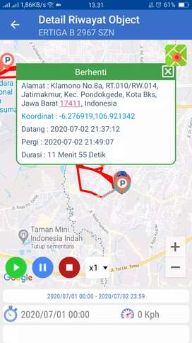 GPS TRACKER gt06n terbaik di batu sopang kalimantan