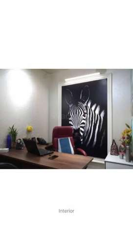 Small furnished office with 1 cabin and 5 seats, Sec 62, Noida