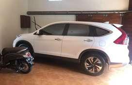 Honda CRV Prestige 24 Sunroof Putih 2015 Low KM Original  Asli Plat K