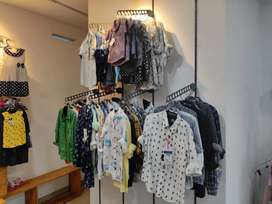 Kids dead stock garments available.