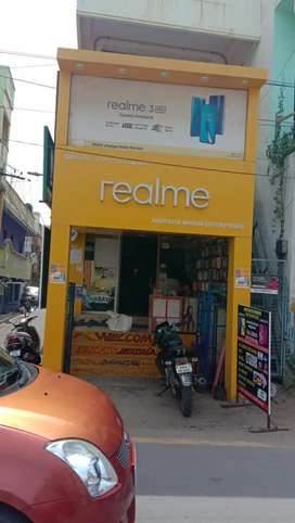 Mobile Shop counter sales