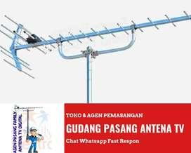 Agen Instalasi Pasang Baru Antena Tv Canggih Antenna Uhf Terbaik