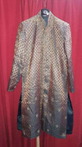 Wedding wear 3 piece sherwani for sale used for just few hours