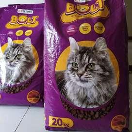 Makanan Kucing BOLT 20kg
