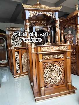 Mimbar masjid podium J367 kode