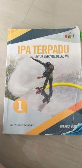 Buku IPA TERPADU SMP KLS 7 KURIKULUM2013 penerbit Erlangga