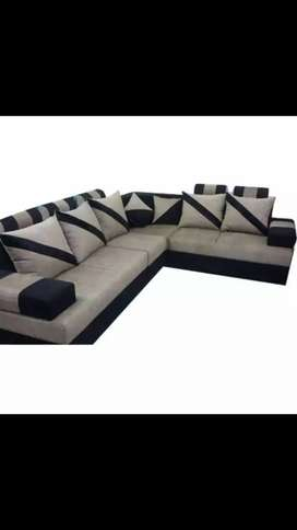L shape sofa and new look