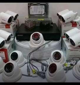 Palmerah agen plus pasang kamera CCTV hikvision