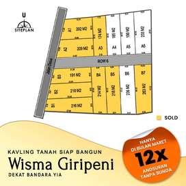Bangun Rumah Sendiri Harga 1 Jutaan/M2 Hemat 100 Jt di Wisma Giripeni